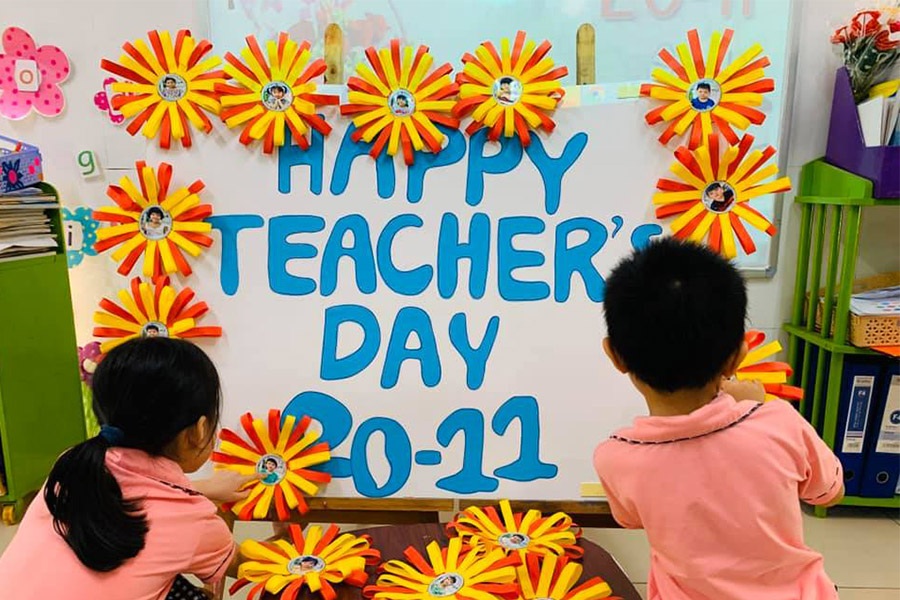 Happy teacher's day 2020-2021